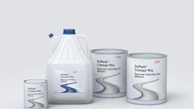 DuPont desarrolla componentes base agua Cromax Pro para baja humedad