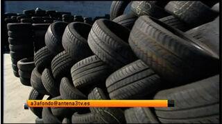 Los neumáticos de segunda mano, un competidor al alza