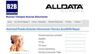 Alldata Repair, información técnica con datos originales del fabricante
