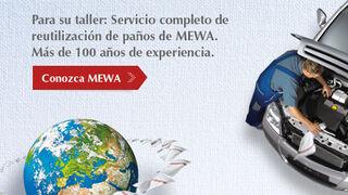 Mewa, servicio completo de limpieza para el taller