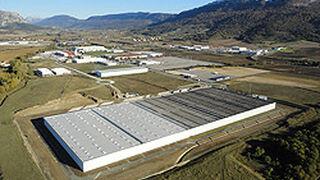 Michelin amplía su almacén de Araia (Álava)
