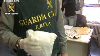 Tres detenidos por introducir cocaína a través de un taller de Cuenca
