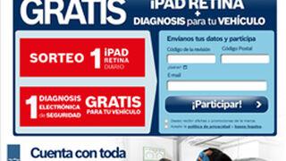 Bosch Car Service regala revisiones y sortea iPads
