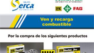 Serca y LuK regalan tarjetas combustible a los talleres