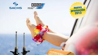ZF Services regala toallas de playa por comprar amortiguadores