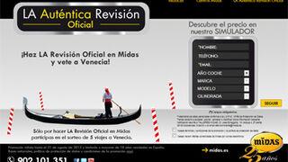 """Midas reedita su promoción """"A Venecia con Midas"""""""