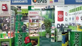 Olipes, en Automechanika Johannesburg (Sudáfrica)