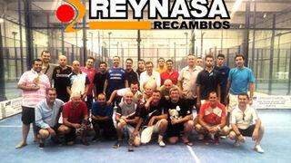 Reynasa celebró con sus clientes un torneo de pádel