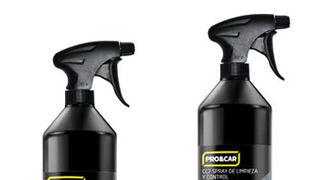 Pro&Car, nuevos sprays restaurador de plásticos y de limpieza y control