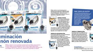 Iluminación xenón renovada con Philips