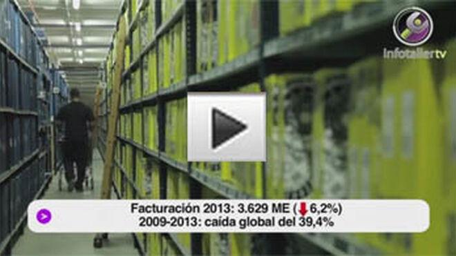 La facturación del sector del recambio caerá el 6,2% en 2013
