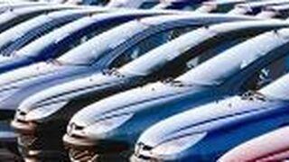 La flota de vehículos en renting pierde 38.000 unidades en un año