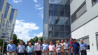 Grovisa enseña a clientes y periodistas la planta de Hidria en Tolmin