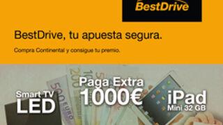 BestDrive ofrece premios seguros por comprar neumáticos Continental