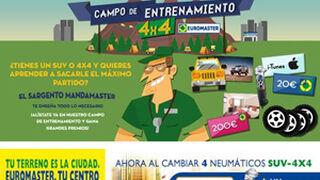 Euromaster, campaña para 4x4 y SUV en talleres y Facebook