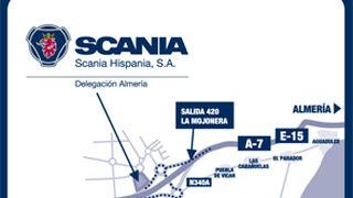 Scania Hispania inaugura una delegación en Almería