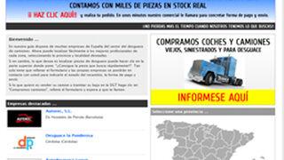 Desguacescamiones.net, buscador de piezas usadas para V.I.