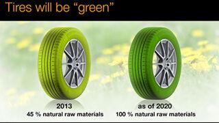 Continental perfila el neumático verde del futuro