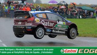 Castrol se lleva a dos seguidores de Facebook al Rally RACC