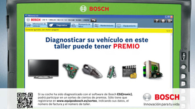 Bosch impulsa a talleres con equipos KTS y software ESI(tronic)