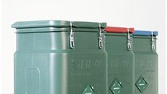 Contenedor SaCon de Mewa para el almacenaje de paños