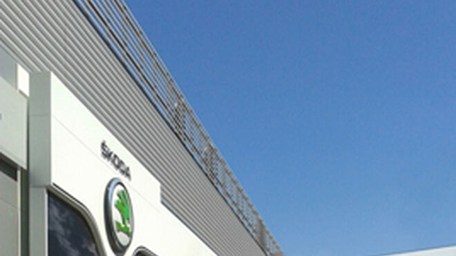 Skoda estrena imagen corporativa en su concesionario de Zaragoza