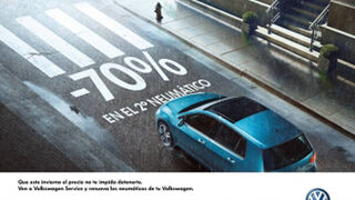 Volkswagen cambia los neumáticos a un Polo por 135 euros