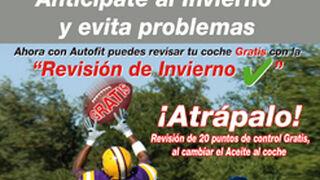 Autofit ofrece revisiones gratis por cambiar el aceite