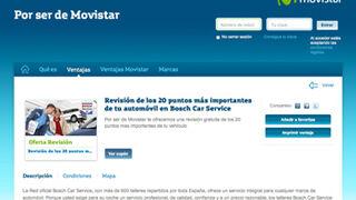 Los talleres Bosch Car Service accederán a clientes de Movistar