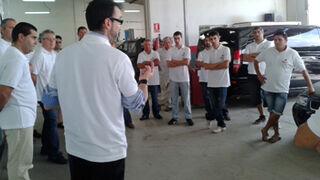 23 talleres se familiarizan con Cromax en Ibiza