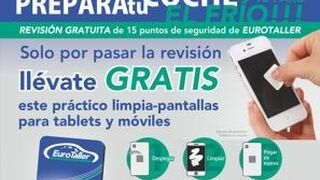 EuroTaller sortea un iPad mini cada semana con la puesta a punto