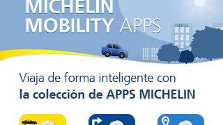 Michelin lanza un paquete de aplicaciones móviles