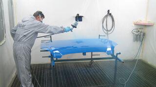 Hella lanza VIM, línea de pintura para vehículo industrial