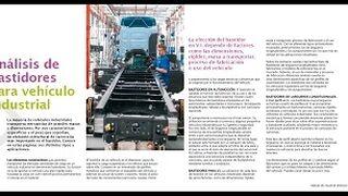 Análisis de bastidores para vehículo industrial