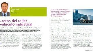 Los retos del taller de vehículo industrial