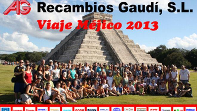 Recambios Gaudí visitó México en su viaje de incentivos