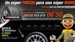 Confortauto rebaja neumáticos de primeras marcas