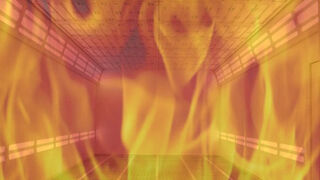 Cinco trabajadores de un taller, intoxicados por un incendio