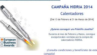 Grovisa promociona los calentadores Hidria