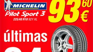 Grupo Soledad: Últimas 24 horas de superoferta Michelin Pilot Sport 3