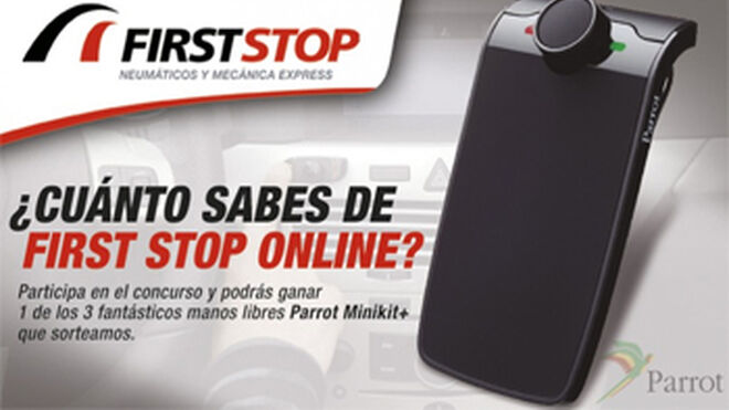 First Stop sortea tres Parrot Minikit+ entre sus seguidores de Facebook