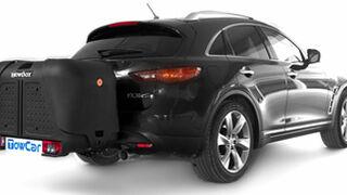 TowBox Black Edition, remolque sin ruedas en color negro
