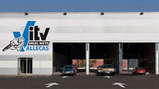 Ángel Nieto abre una ITV en Vallecas (Madrid)