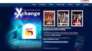 Bosch promociona eXchange con un concurso de cortometrajes