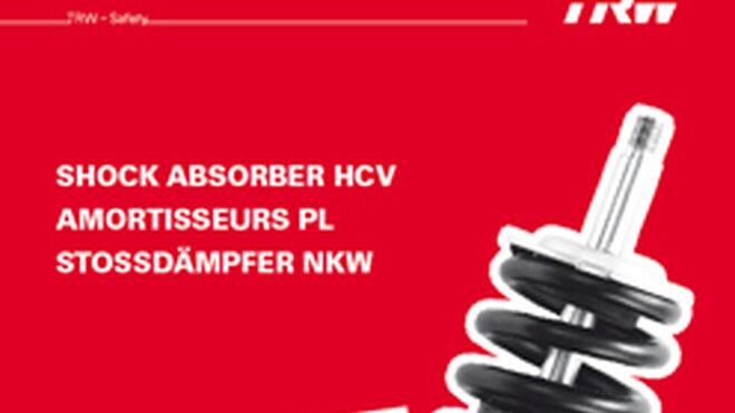 TRW Proequip, nuevo catálogo de amortiguadores para V.I.