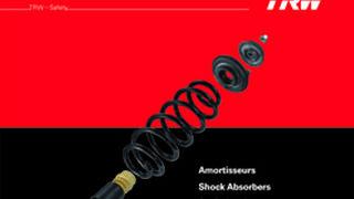 TRW, 2.500 referencias en un nuevo catálogo de amortiguadores