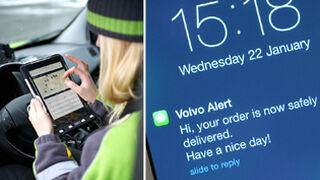 Volvo inventa el coche que recibe paquetes