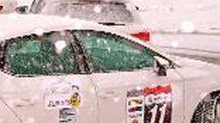 Talleres de Eurotyre disfrutan de la conducción sobre nieve