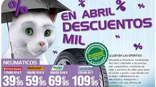 Feu Vert presenta su campaña de abril con precios especiales