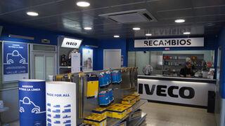 Iveco renueva la imagen de sus tiendas de recambios